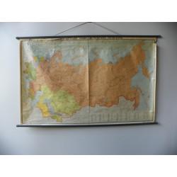 Mapa pol. - admin. ZSRR